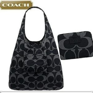 NWT☆Discontinued COACH Park Signature Fldng Tote